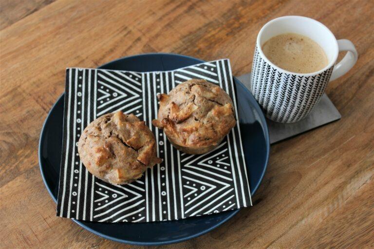 Appel-cranberry Ontbijtmuffins