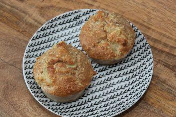 Ananas-kokos muffins