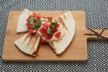 Quesadillas met kikkererwten